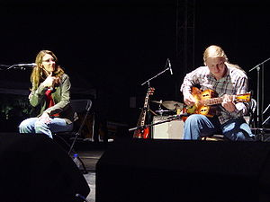 English: Susan Tedeschi and Derek Trucks