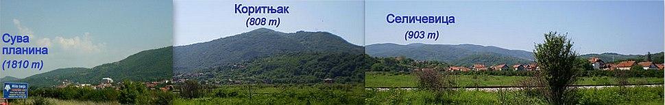Suva planina Koritnjak i Seličevica