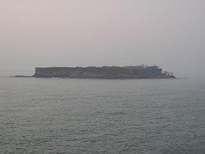 Suvarnadurg - Image: Suvarnadurg as seen from afar