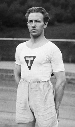 Sverre Hansen (athlete) - Sverre Hansen, Oslo 1924