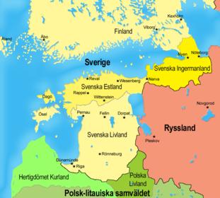 Dansk koloni illa skadad