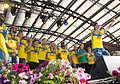 Sweden national under-21 football team celebrates in Kungsträdgården 2015-2.jpg
