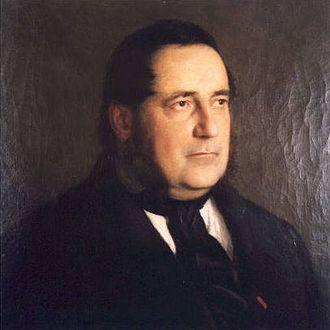 Bertalan Székely - Image: Székely Portrait of Adalbert Stifter 1863