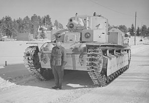 T-28 - T-28 operated by Finland. April, 1940