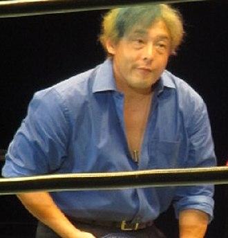 Yoshihiro Tajiri - Tajiri in July 2017