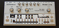 TB-303 front panel