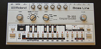 Rip It Up (Orange Juice song) - Roland TB-303