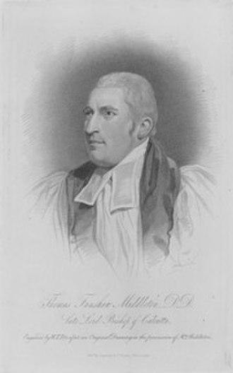 Thomas Middleton (bishop) - Bishop Middleton.