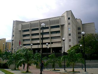 Supreme Tribunal of Justice (Venezuela) - TSJ building in Caracas