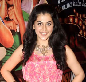 Taapsee Pannu at the Audio release of Chashme Baddoor