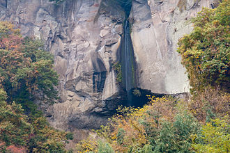 Shibukawa, Gunma - Tanashitafudō Waterfall