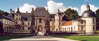 Château de Tanlay - Château de Tanlay, Burgundy.
