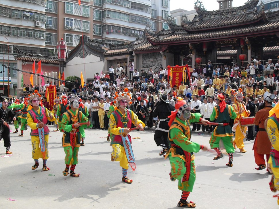 Taoist ceremony at Xiao ancestral temple in Chaoyang, Shantou, Guangdong (outside) (2)