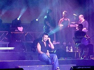 Tarkan (singer) - Tarkan in Skopje in 2007