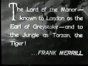 Tarzan the Tiger - Image: Tarzan the Tiger Merrill 1