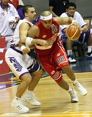 Asi Taulava - Asi playing for Coca Cola Tigers (2010)