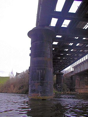 Tees Bridge - The 1881 Walter Scott bridge
