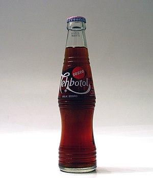 Teh botol - 1974-present Teh Botol Sosro bottle