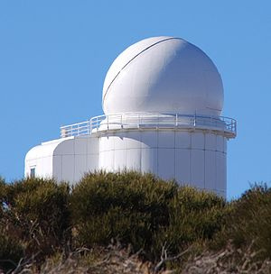 Teide Observatory - THÉMIS