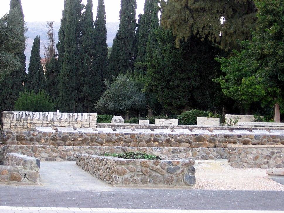 Tel Hai graves