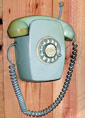Telefonica Classical telephone.