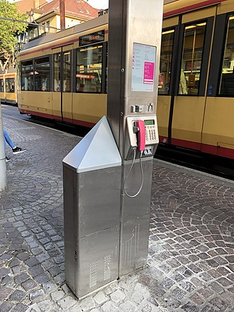 Small cell - LTE Small cell operated by the German carrier Deutsche Telekom