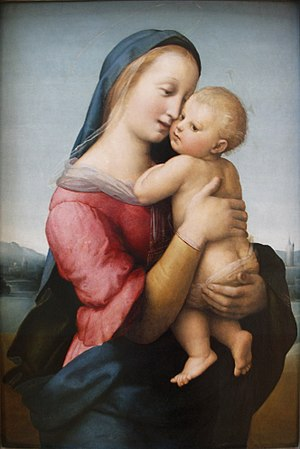 Alma Redemptoris Mater - Madonna by Raphael, an example of Marian art