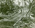 Temporary Bridge, Guadalcanal, circa 1942 (7846087342).jpg