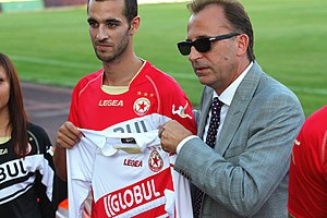 Legea - Legea concluded a contract in 2012 with 31-time Bulgarian A Professional Football Group champions CSKA Sofia.