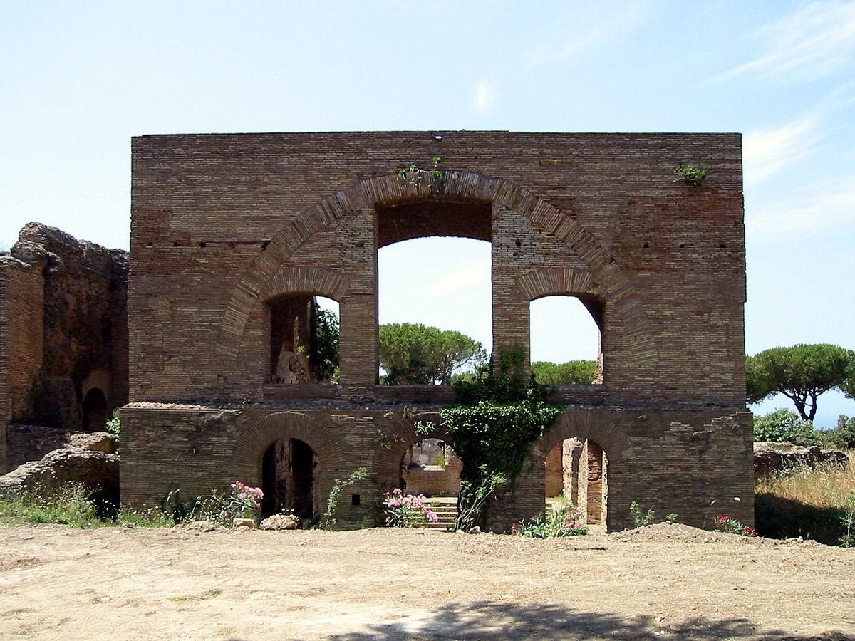 Thermes taurins wikip dia - Comment aller du port de civitavecchia a rome ...
