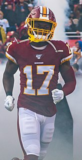 Terry McLaurin American football wide receiver