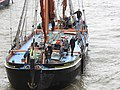 Thames barge parade - in the Pool - Ardwina 6696.JPG