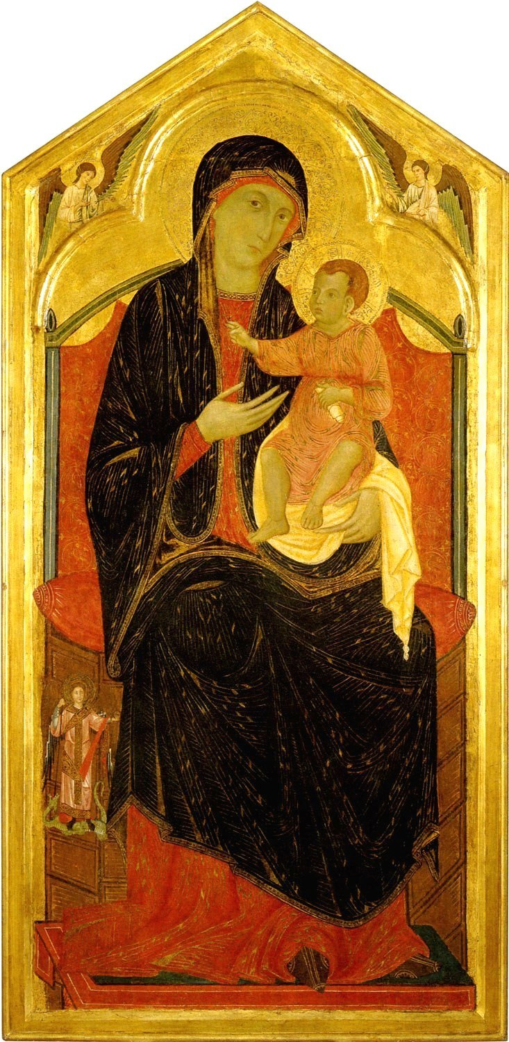 The-Madonna-and-Child-Enthroned.ок.1285-95г. San Regolo, Montaione