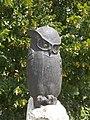 The 'Hu', Eurasian eagle-owl statue by Ottó Fittler (2011), 2017 Mosonmagyaróvár.jpg