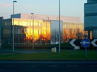 Edinburgh Science Triangle - The Alba Innovation Centre in Livingston, West Lothian is at the centre of Silicon Glen.