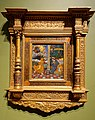 The Annunciation, based on a print by Marco Dente da Ravenna, Venice, 1600s, reverse painting on glass - John and Mable Ringling Museum of Art - Sarasota, FL - DSC00579.jpg