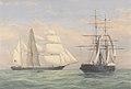 The Barque Orion captured by HMS Pluto Nov 1859 RMG PY8559.jpg
