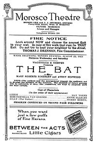 The Bat cover