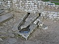 The Bath House, Chesters Fort - the Cold Room - geograph.org.uk - 1039445.jpg