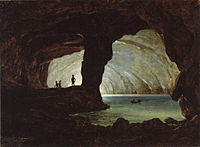 The Blue Grotto at Capri 1833.jpg