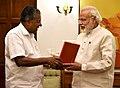 The Chief Minister of Kerala, Shri Pinarayi Vijayan calling on the Prime Minister, Shri Narendra Modi, in New Delhi on May 28, 2016.jpg
