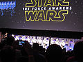 The Force Awakens panel at Celebration Anaheim (16772369584).jpg