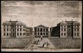 The Foundling Hospital, Holborn, London; the main buildings Wellcome V0013450.jpg