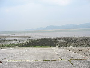 Llanfaes Friary - The Fryars Slipway on the foreshore of Fryars Bay