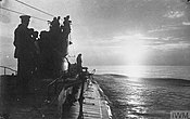 The German U-boat U-35 cruising in the Mediterranean, April 1917.jpg