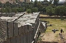 Toppled Obelisk Of Axum ~ Impossible Engineering? 220px-The_Great_Obelisk%2C_Axum_%282812691618%29