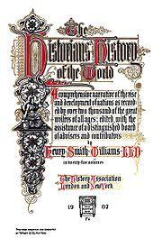 History - Wikipedia, the free encyclopedia
