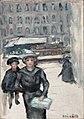 The Little Street or Boulevard des Batignolles by Pierre Bonnard.jpg