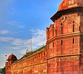 The Main Rampart of THE RED FORT where the national flag is hoisted by the Prime Minister on the occassion of Independence day.jpg
