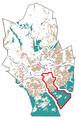 The Map of Matinkylä-Olari at Espoo in Finland.png